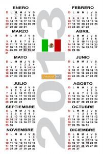 calendario-2013 mexico