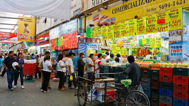 Alimentos Mercados Centrales de Abasto Mexico