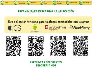 APP Pagar Tarjeta de circulación del DF