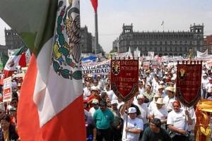 Dia del Trabajo en Mexico