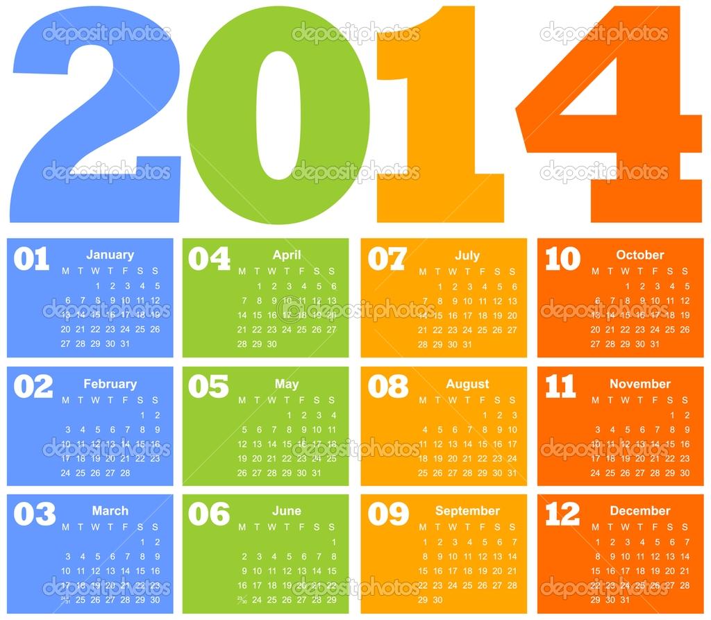 Calendario laboral Mexico 2014