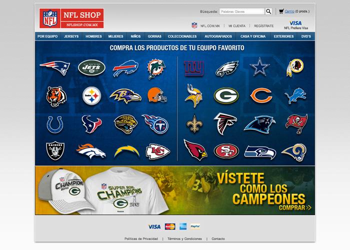 Hot Sale Tienda NFL 2014