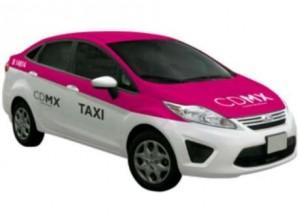 Nuevos taxis del DF