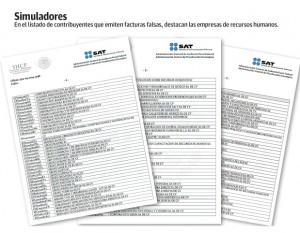 Tercer Listado Contribuyentes SATMexico