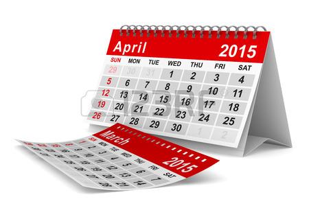 Calendario Argentina Abril