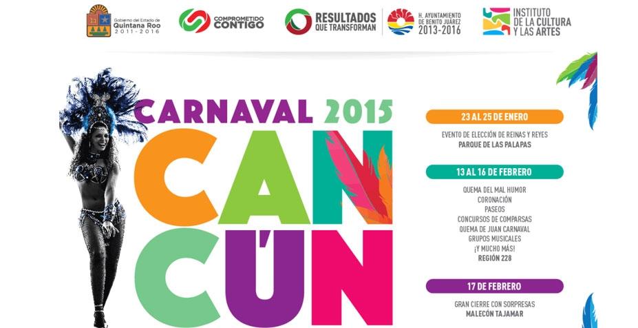 Calendario Carnaval Mexico 2015