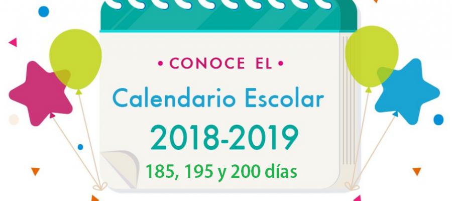 Calendario-Escolar-SEP-2019-de-185-195-y-200-días